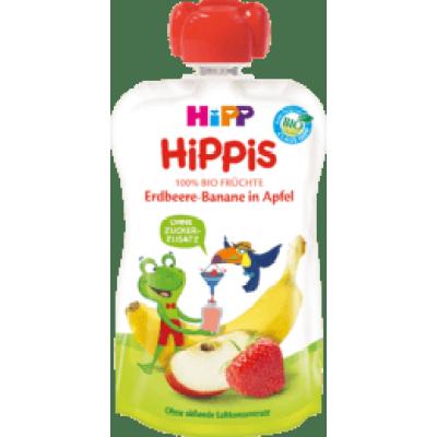 (14.98元/袋)喜宝Hipp 草莓香蕉苹果吸吸乐 1岁以上 100g*3袋