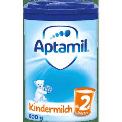 (133元/罐)Aptamil 爱他美婴儿奶粉蓝版2+段800g*6罐
