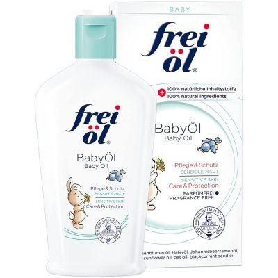 (69.98元/瓶)德国福来frei Öl婴儿按摩油抚触油140ml*4瓶