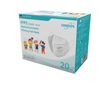 Europapa FFP2 Masken für Kinder-Weiße